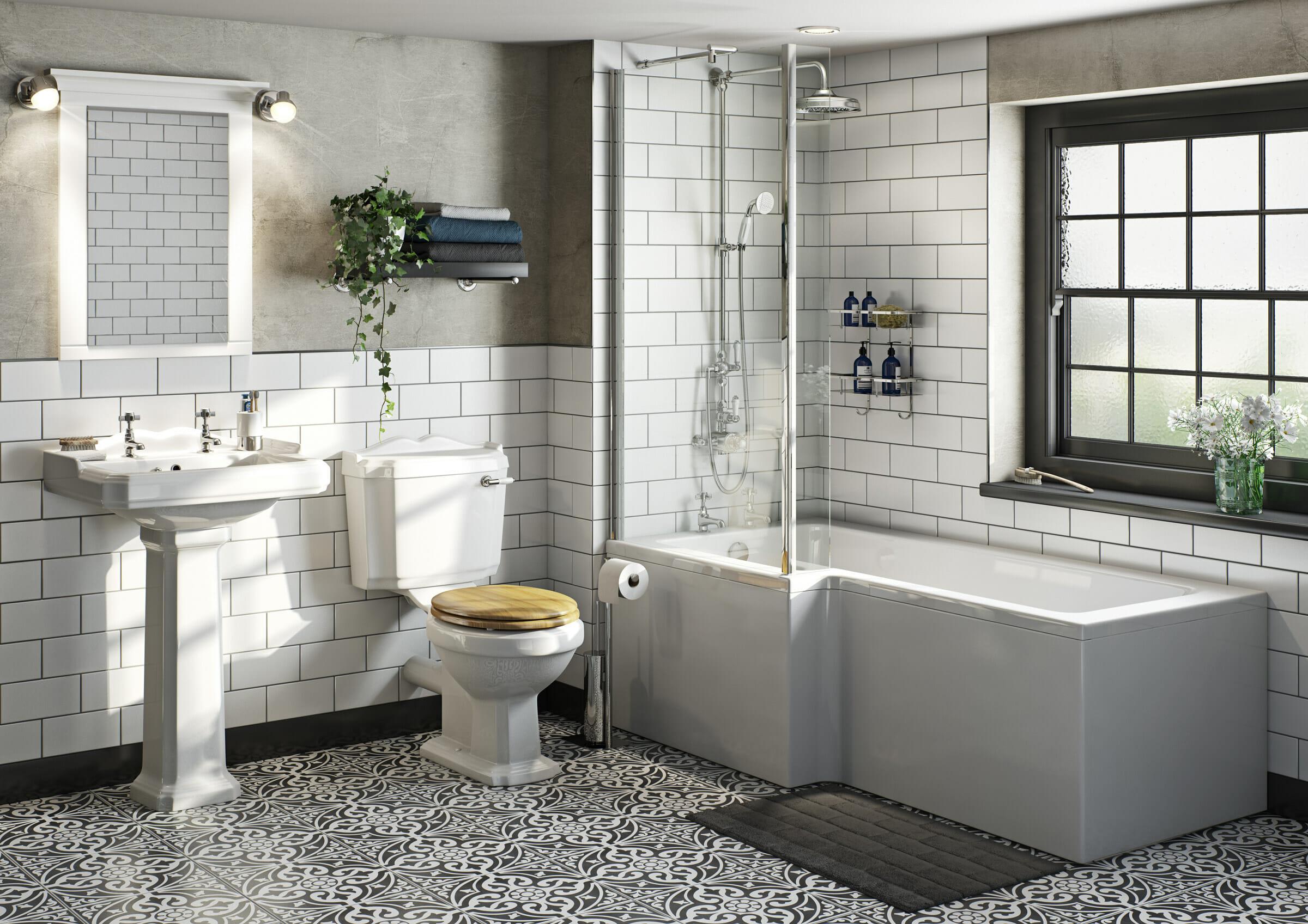 multi-generational family bathroom
