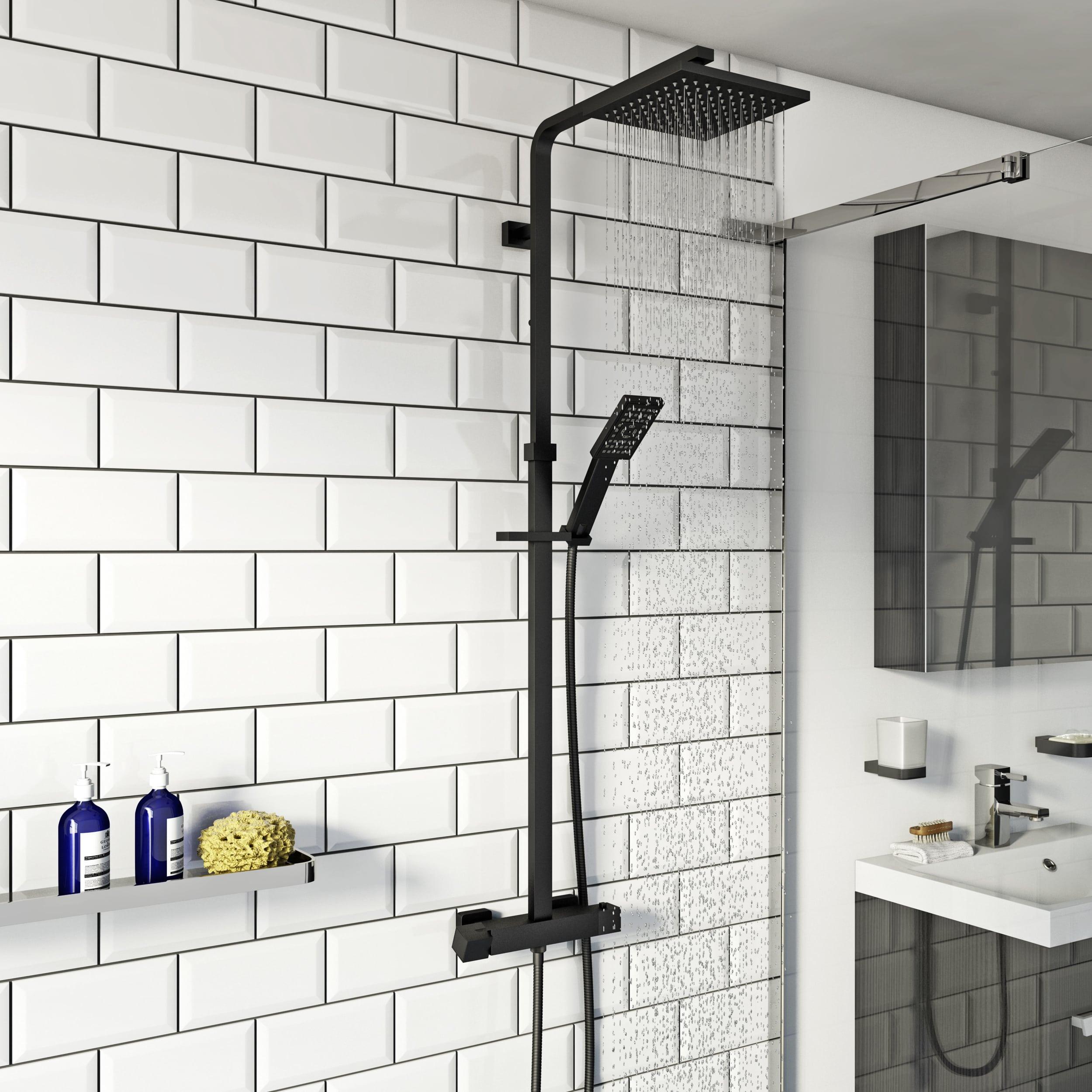 safe thermostatic shower